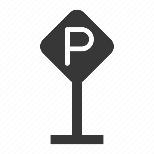 parking, parking sign, road signs, sign, transport icon