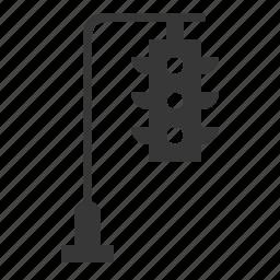 traffic light, traffic signal, transport icon