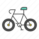 bicycle, bike, traffic, transport, vehicle icon