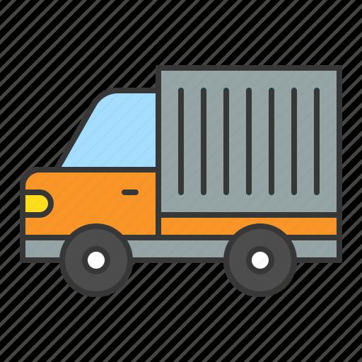 traffic, transport, truck, vehicle icon