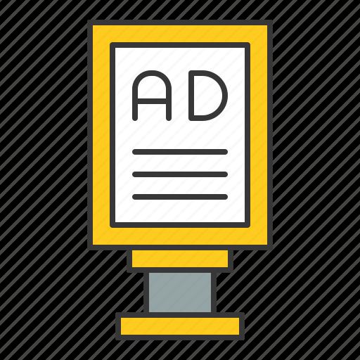 advertise, traffic, transport icon