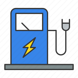 car charger, electric car charger, traffic, transport icon