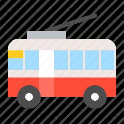 traffic, tram, transportation, vehicle icon