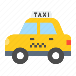car, taxi, traffic, transportation, vehicle icon