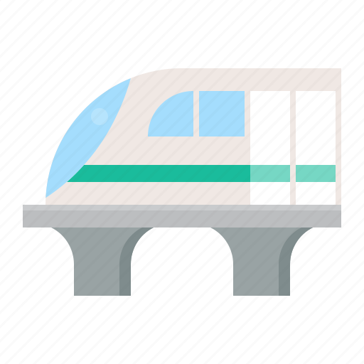 high speed train, traffic, train, transportation, vehicle icon