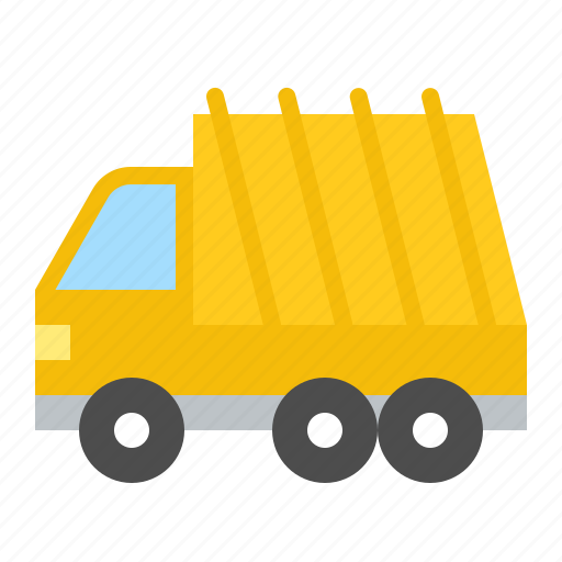 garbage truck, traffic, transportation, truck, vehicle icon