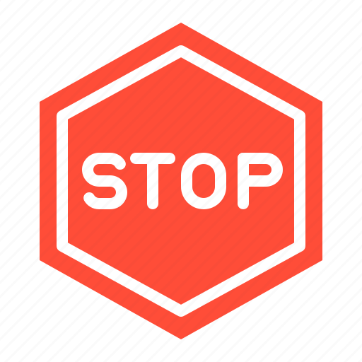 road signs, sign, stop, stop sign, transportation icon