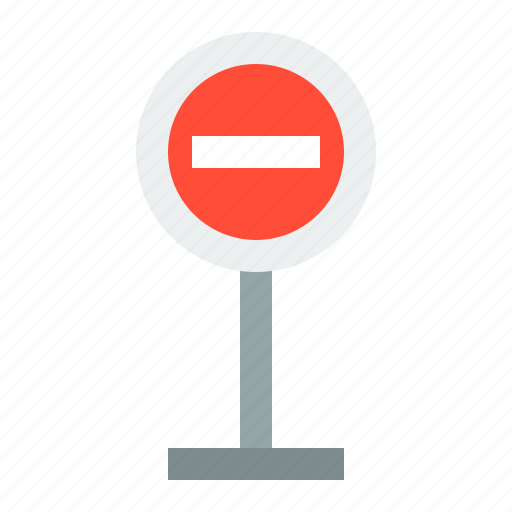 no entry, no entry sign, road signs, sign, transportation icon