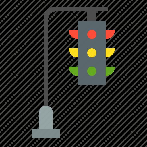 traffic light, traffic signal, transportation icon