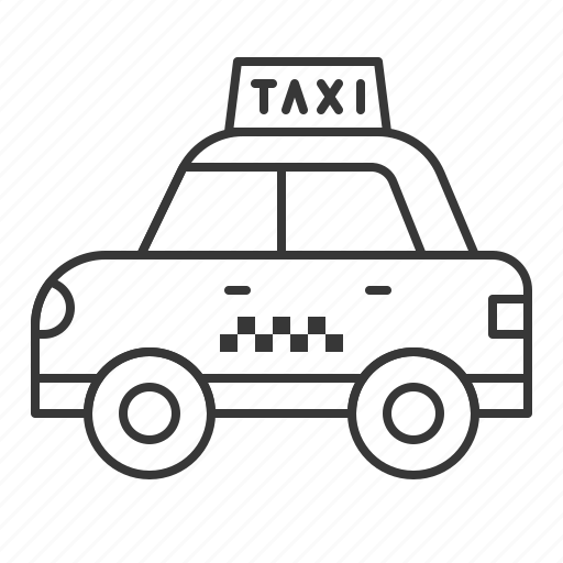 car, taxi, traffic, transportation, vehicle icon