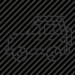 camping car, car, traffic, transportation, vehicle icon