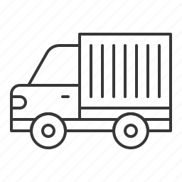 container truck, traffic, transportation, truck, vehicle icon
