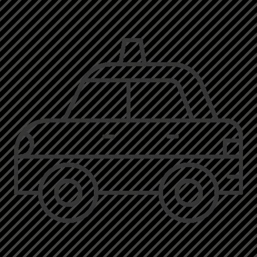 car, patrol car, police car, transportation, vehicle icon