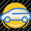 car, land, motor, vehicle icon