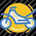 land, motocross, motor, motorcycle, vehicle icon