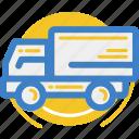 land, motor, motorbox, truck, vehicle icon