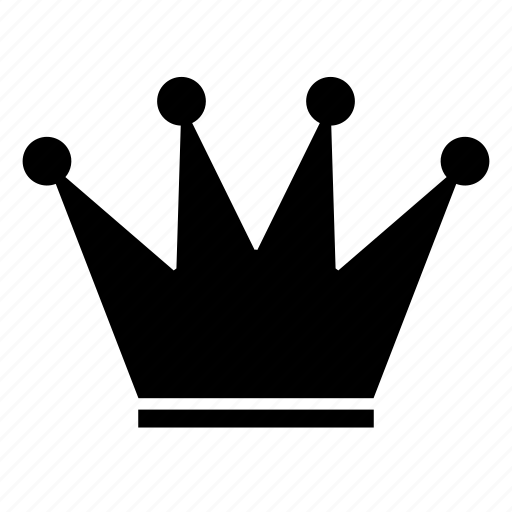 crown, king, leader, monarch, power icon