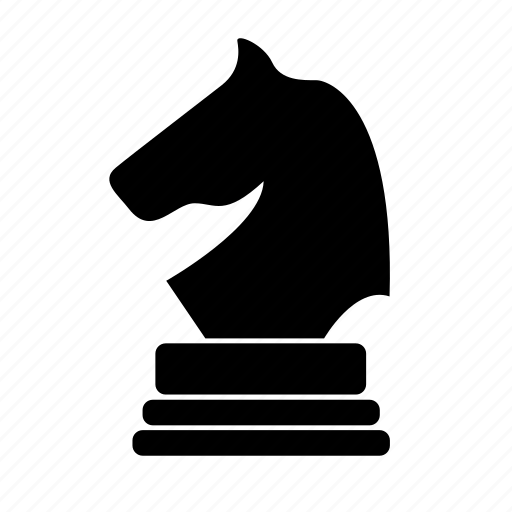 chess, horse, knight, victory icon