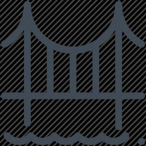 Architecture, bridge, engineering, landmark, monumentssanfransisco, world icon - Download on Iconfinder