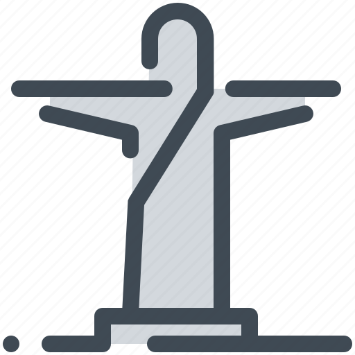 Brazil, christ, landmark, monument, travel, world icon - Download on Iconfinder