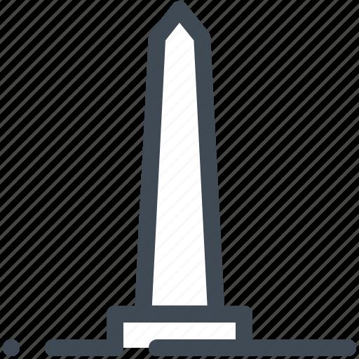 America, landmark, monument, tower, usa, washington icon - Download on Iconfinder
