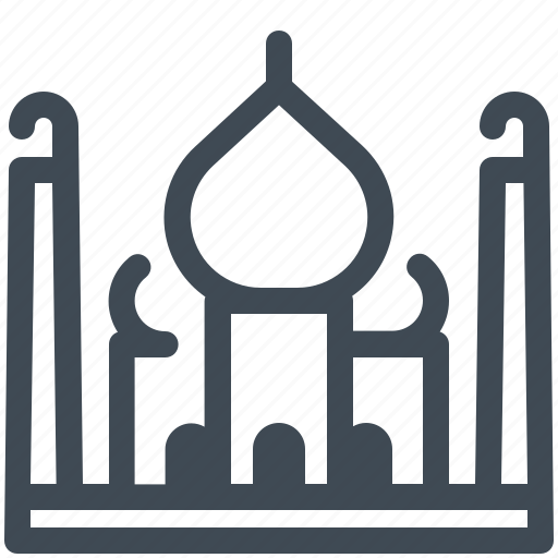 Architecture, building, india, mahal, sight, taj icon - Download on Iconfinder