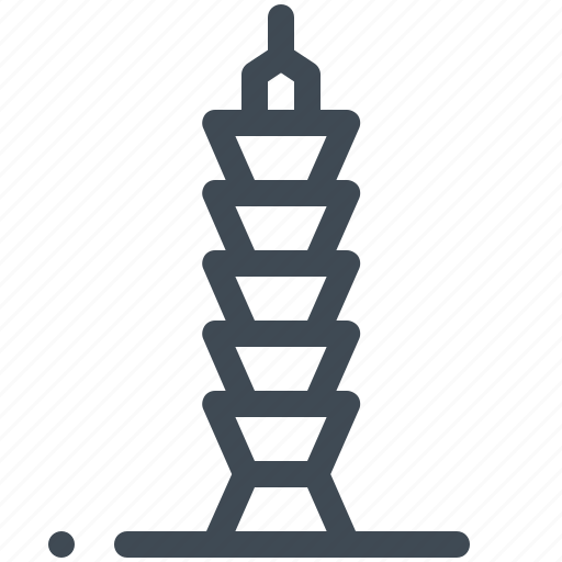 Building, mall, skyscraper, taipei, taiwan icon - Download on Iconfinder