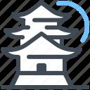 landmark, japan, tokyo, osaka, tower, kyoto, castle