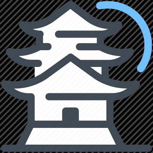 Castle, japan, kyoto, landmark, osaka, tokyo, tower icon - Download on Iconfinder