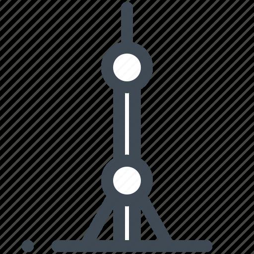 China, landmark, shanghai, tower icon - Download on Iconfinder