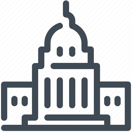 Capitol, governmental, landmark, monument, politics, usa, washington icon - Download on Iconfinder