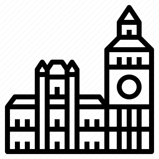 Ben, big, clock, london, tower icon - Download on Iconfinder