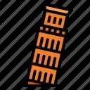 europe, italy, landmark, pisa, tower