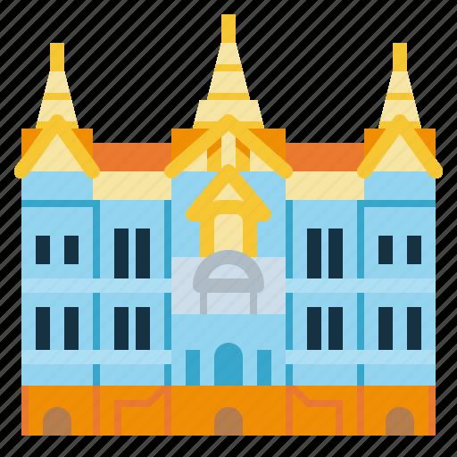 Bangkok, grand, landmark, palace, thailand, travel icon - Download on Iconfinder