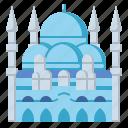 blue, istanbul, landmark, mosque, travel, turkey