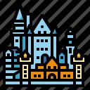 castle, germany, landmark, neuschwanstein, travel