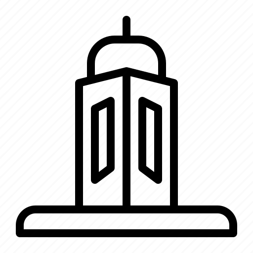 Landmark, tower, monument, building, real estate icon - Download on Iconfinder