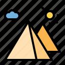 landmark, pyramid, monument, building, architecture