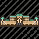 belvedere, palace, vienna, historic, austria
