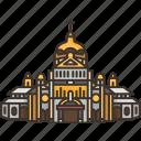 cartago, cathedral, catholic, costa, rica