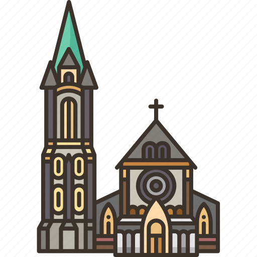 Christchurch, cathedral, church, new, zealand icon - Download on Iconfinder