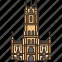 ghent, bavo, cathedral, church, belgium