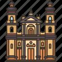 primatial, cathedral, bogota, catholic, colombia