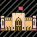 museum, oman, historic, heritage, arabic