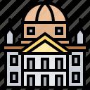 arizona, building, capital, downtown, state icon