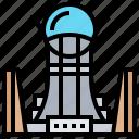 baiterek, building, kazakhstan, landmark, tower icon