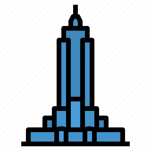 Building, city, empire, landmark, new, state, york icon - Download on Iconfinder