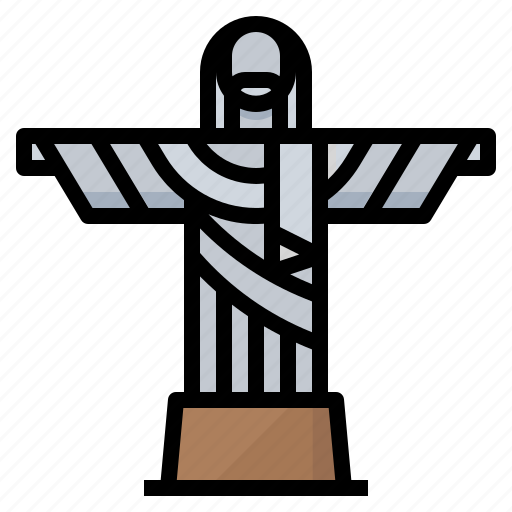 brazil, de, janeiro, landmark, monument, rio icon