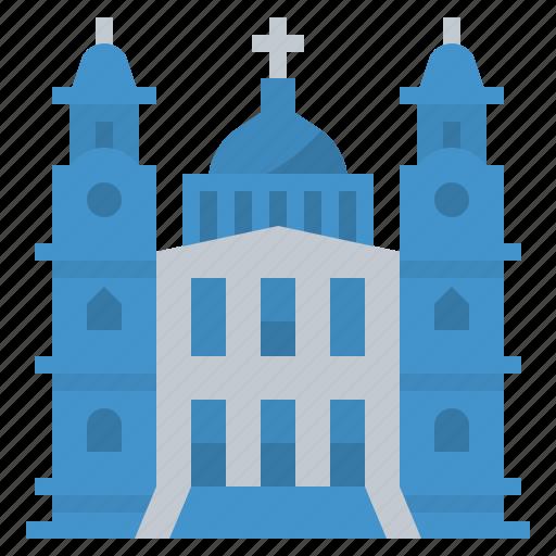 cathedral, landmark, london, paul, st icon