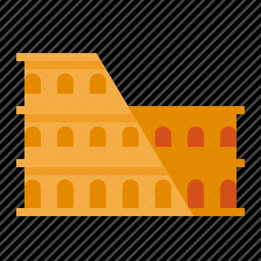 colosseum, italy, landmark, roman icon